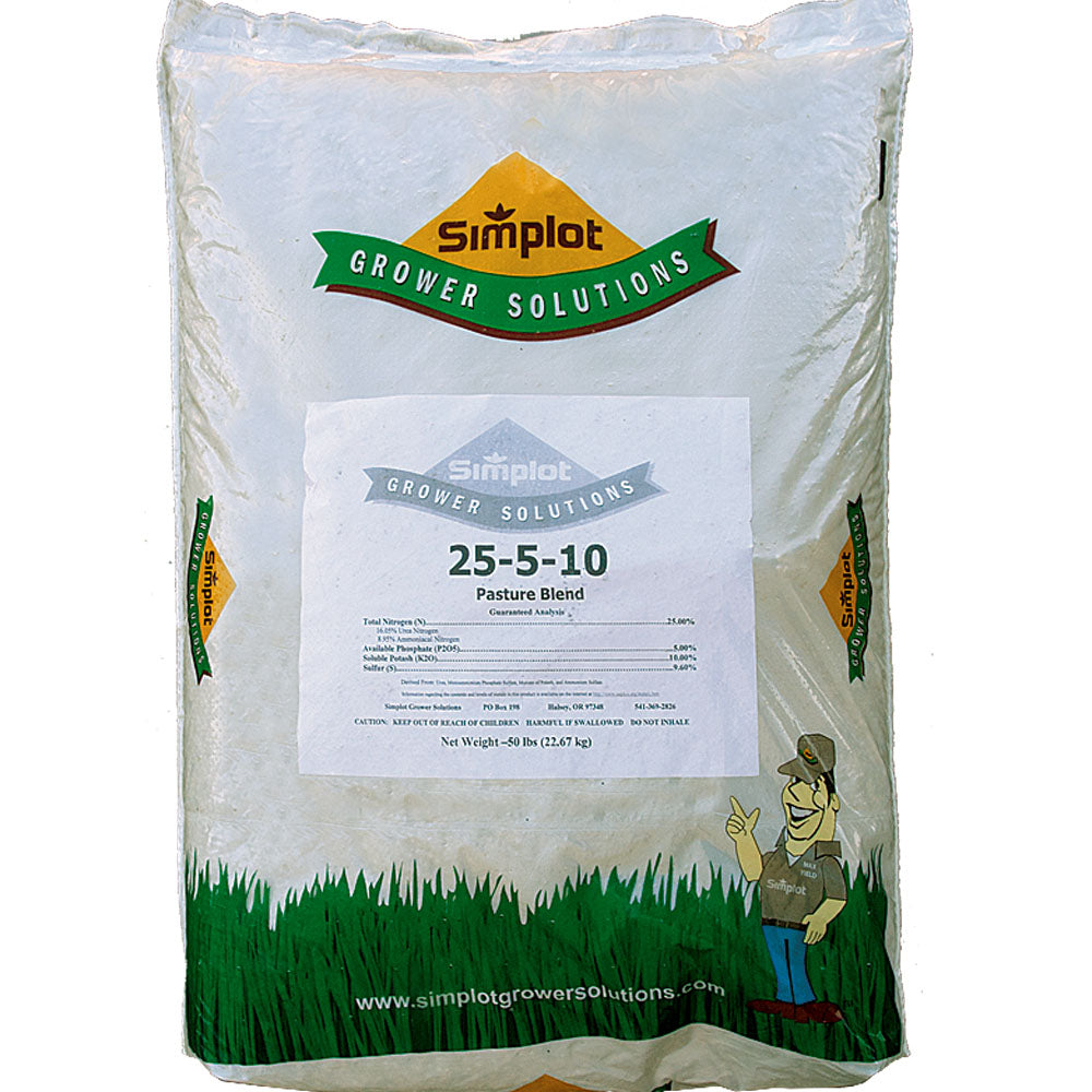 Simplot Pasture Fertilizer 25-5-10