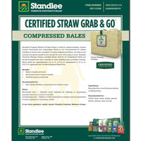 Standlee Certified Straw Grab And Go Bale