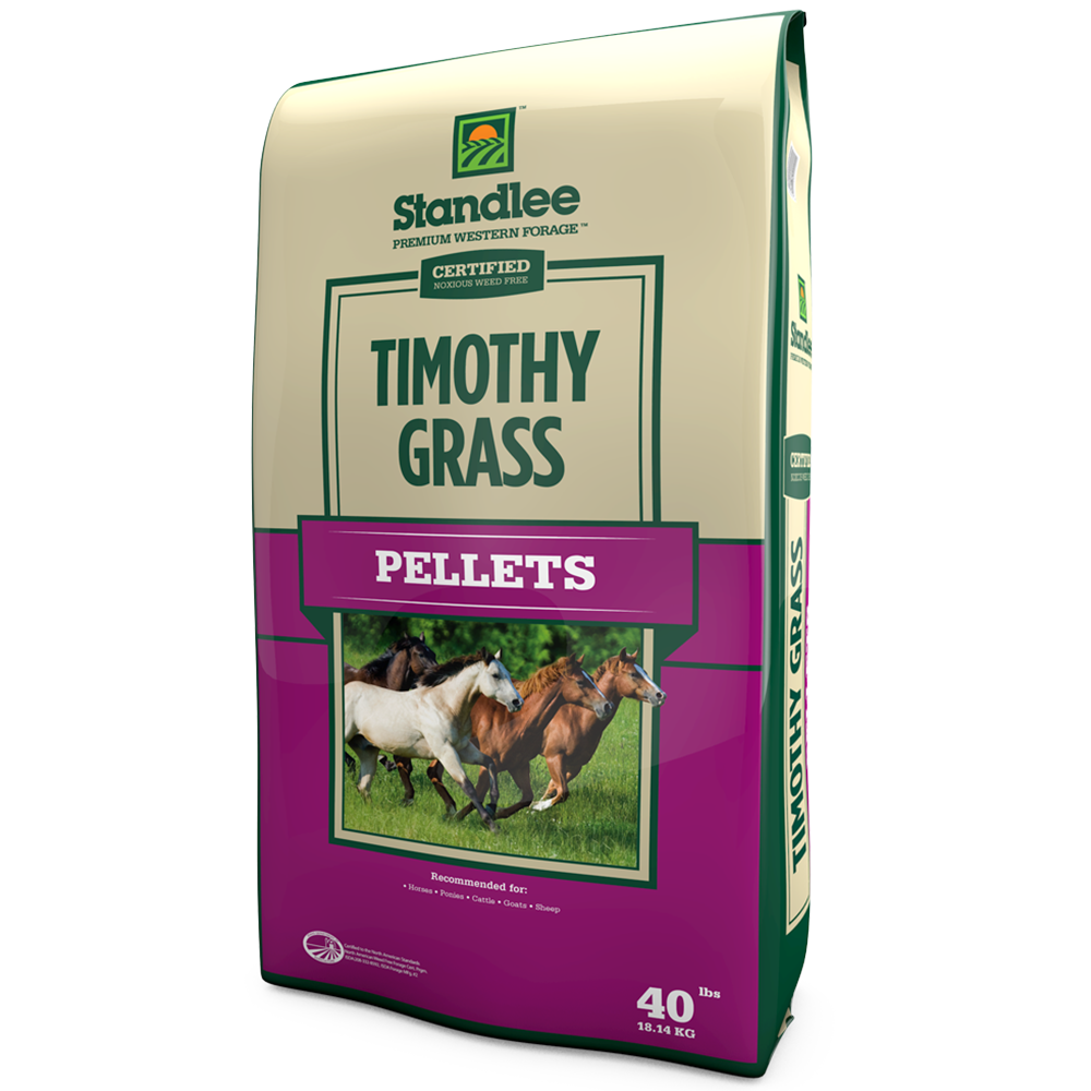 Standlee Certified Timothy Grass Pellets 40-Lbs