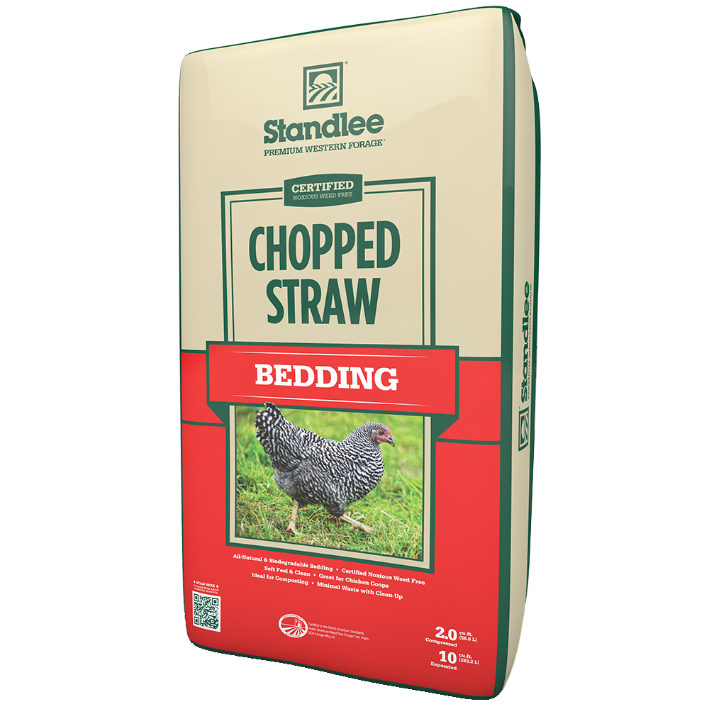 Standlee Certified Chopped Straw Bedding 25-Lbs