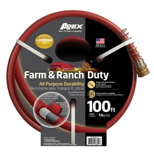 Apex 5/8 X 100 Farm & Ranch Duty Hose