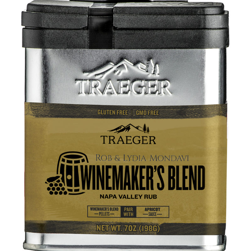 Traeger Winemakers Blend Napa Valley Rub
