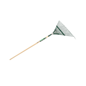 Steel Leaf Rake 22 In Head