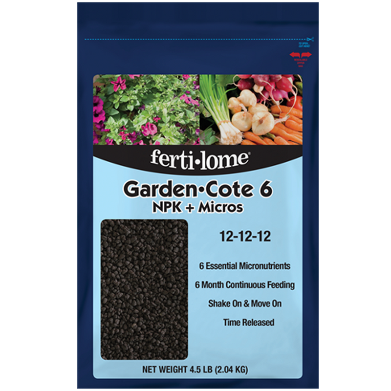 Fertilome Garden Cote 6 Plant Food 4.5lb