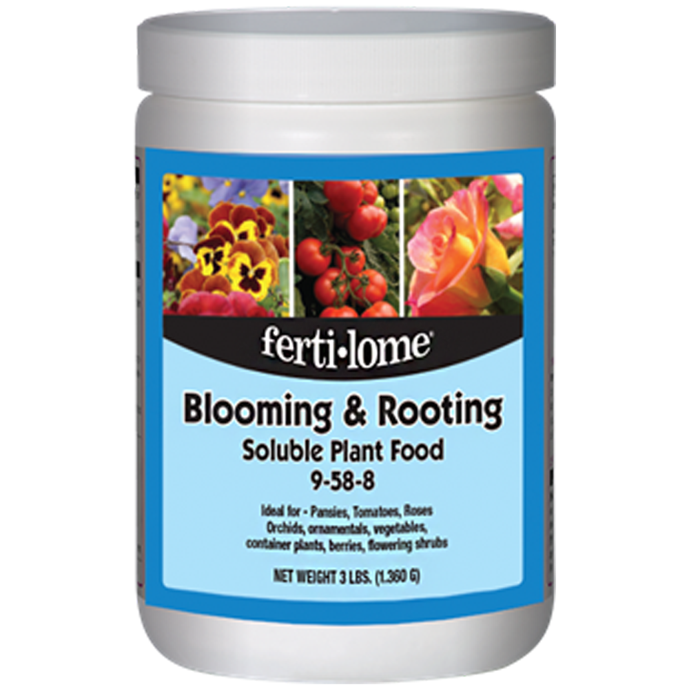 Fertilome Blooming & Rooting Plant Food 3-lbs
