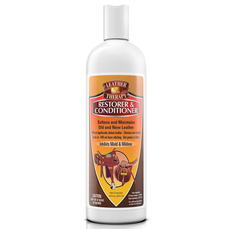 Leather Therapy Restorer And Conditioner 16-Oz