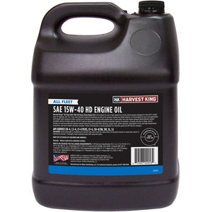 Harvest King SAE 15W-40 HD Engine Oil 2-Gallon