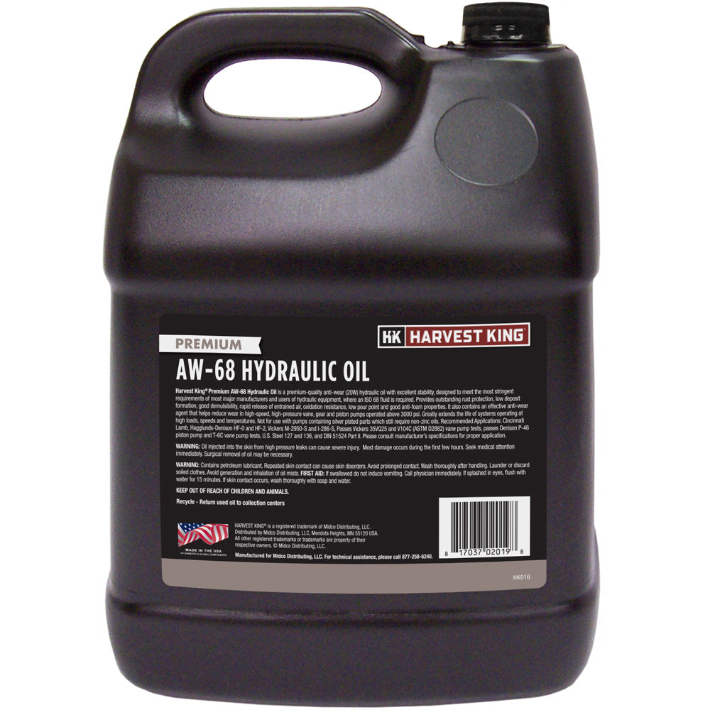 Harvest King AW-68 Hydraulic Oil 2-Gallon