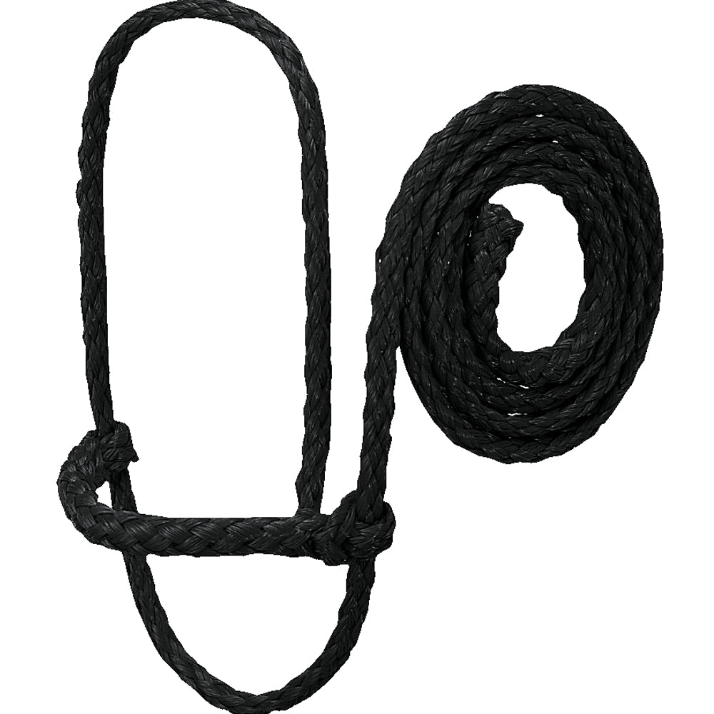 Weaver Leather Poly Rope Sheep Halter Black