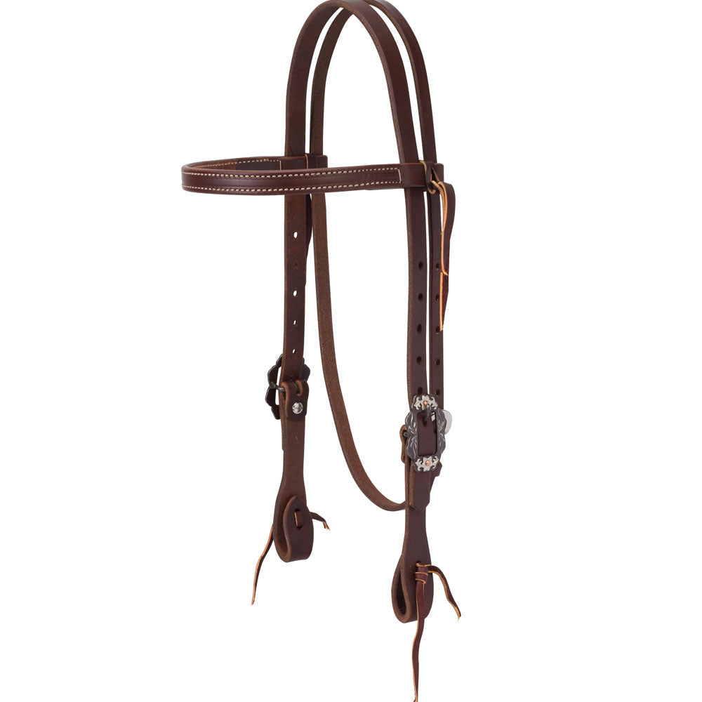 Weaver Leather Working Tack Straight Browband Headstall