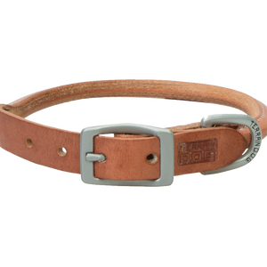 Weaver Leather Terrain Dog Rolled Dog Collar 13-Inch