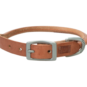 Weaver Leather Terrain Dog Rolled Dog Collar 17-Inch