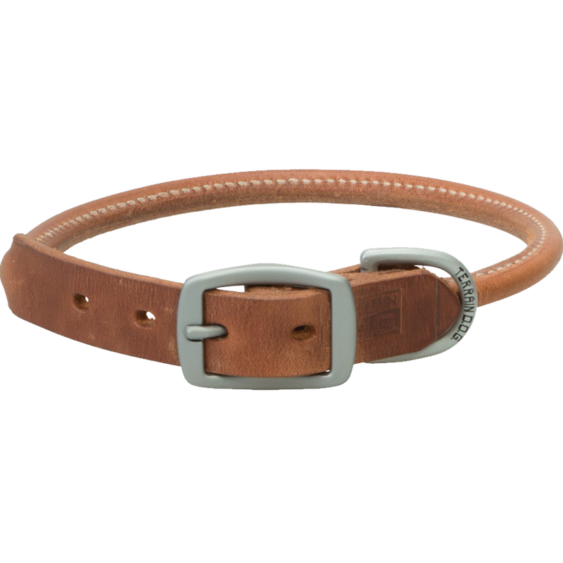 Weaver Leather Terrain Dog Rolled Dog Collar 21-Inch