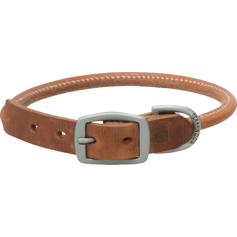 Weaver Leather Terrain Dog Rolled Dog Collar 23-Inch