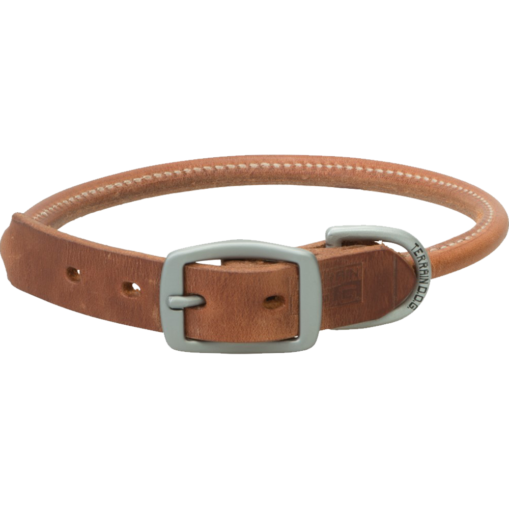 Weaver Leather Terrain Dog Rolled Dog Collar 25-Inch