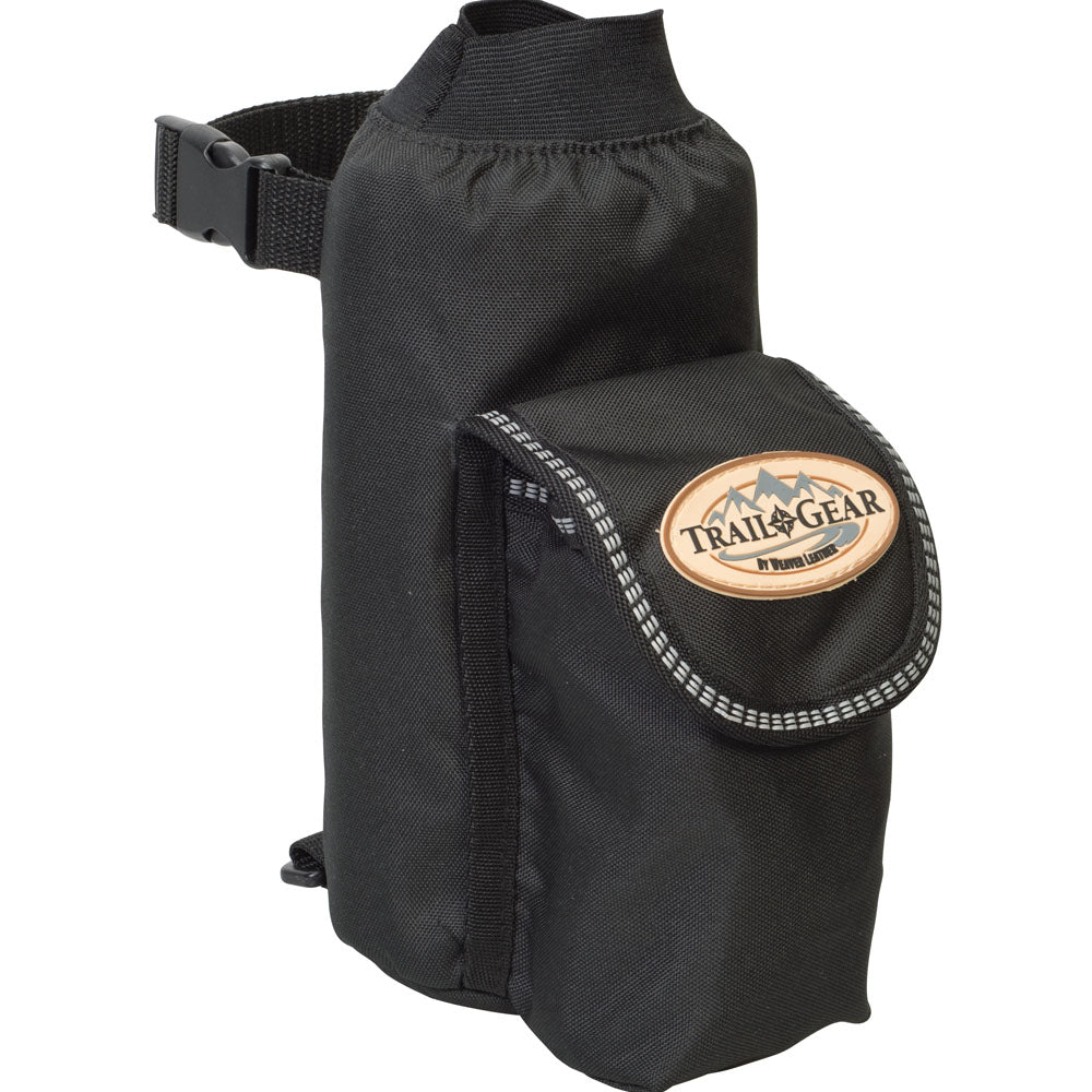 Weaver Leather Trail Gear Water Bottle Holder Black