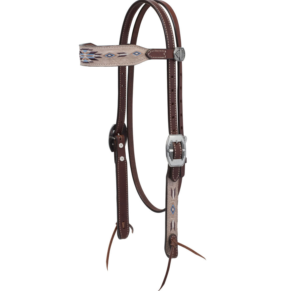 Weaver Leather Winter Star Browband Headstall