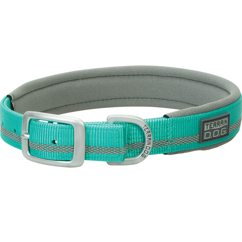 Weaver Leather 1-inch x 19-inch Terrain D.O.G. Reflective Lined Dog Collar Mint