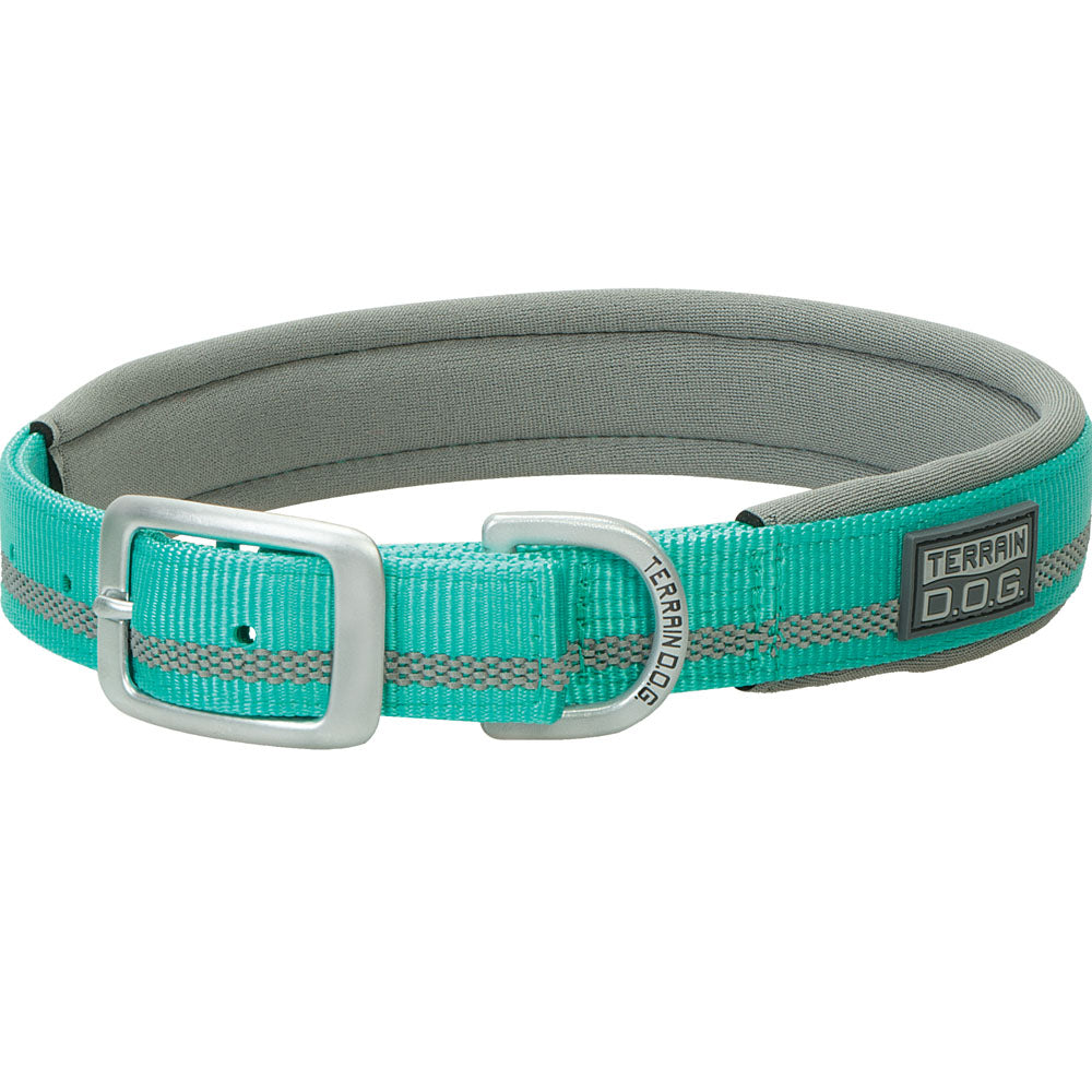 Weaver Leather 1-Inch x 23-inch Terrain D.O.G. Reflective Neoprene Lined Dog Collar Mint