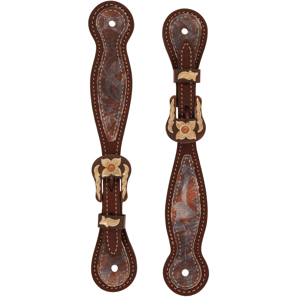 Ladies Patina Rose Spur Straps