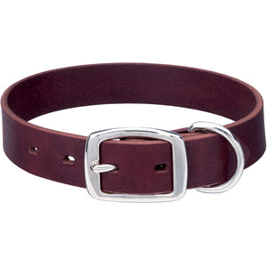 Heritage Choice 13-Inch Dog Collar Burgundy