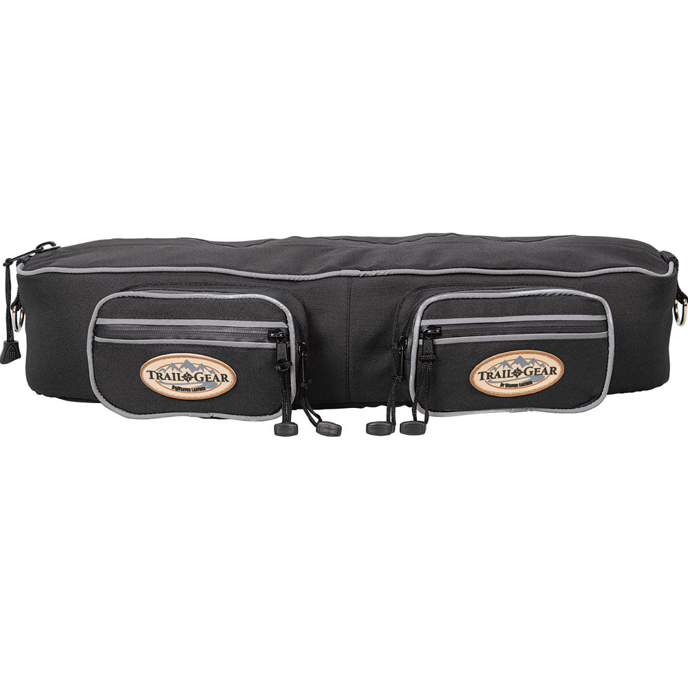 Weaver Leather Trail Gear Cantle Bag Black