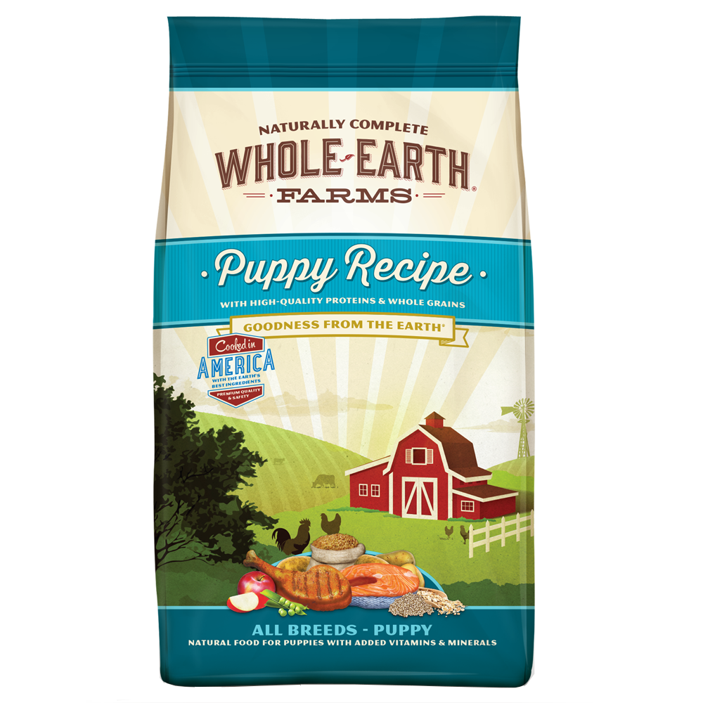 Whole Earth Farms Healthy Puppy 4 lb