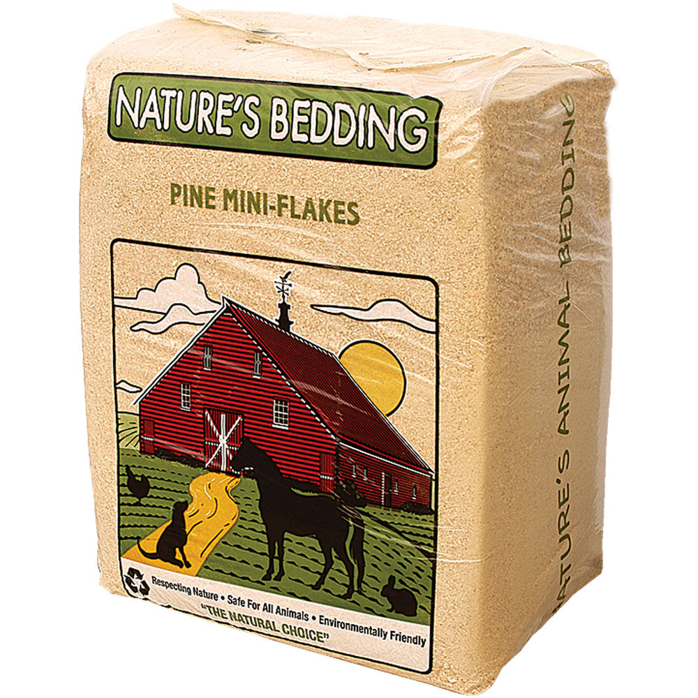 Natures Bedding Pine Mini Flakes 10-Cubic Feet