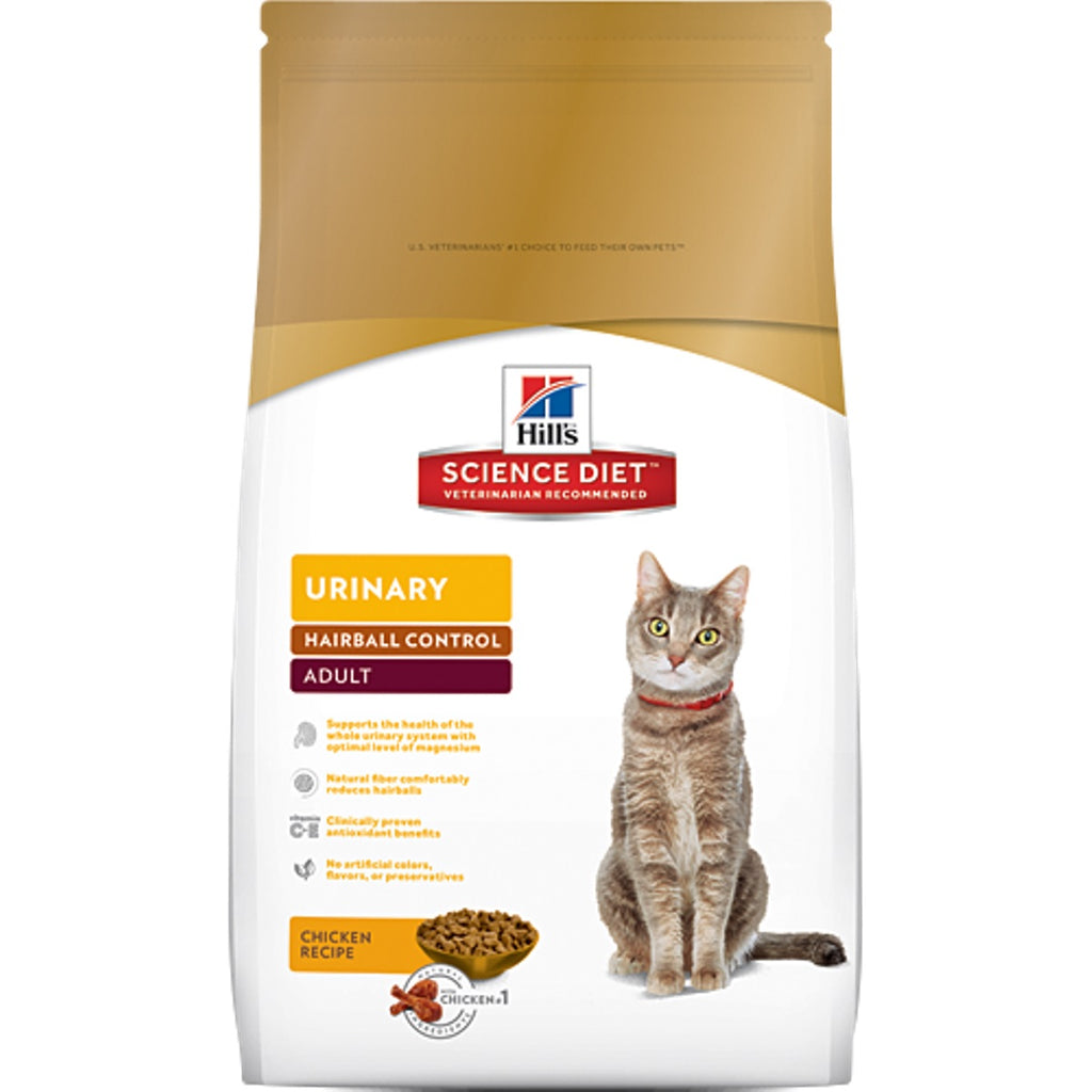 Science Diet Urinary Hairball Control Cat Food 15.5lb
