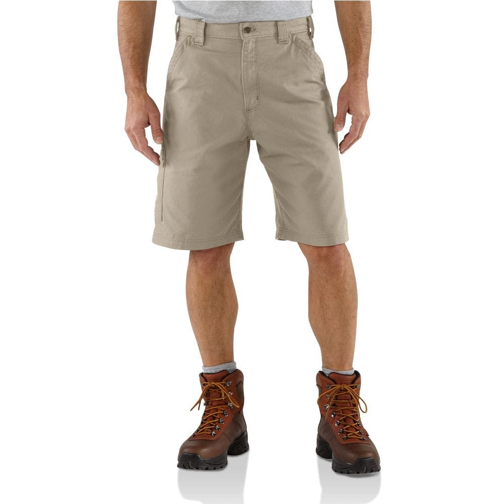 30 Canvas Work Short Tan