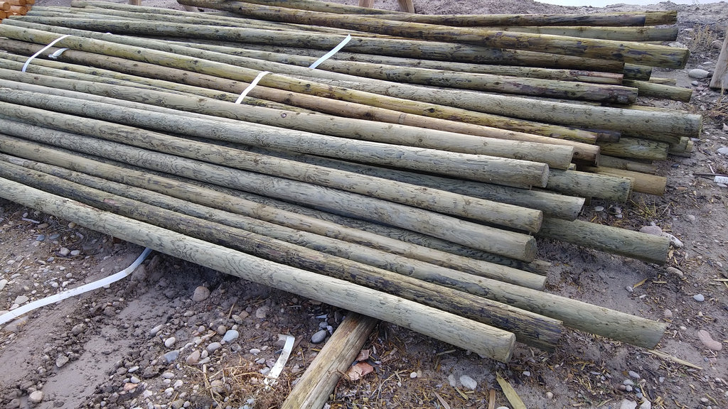 Parma Post 17 Foot Wood Corral Rail