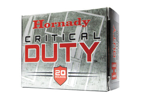 40s&w 175gr Crticl Duty 20rd