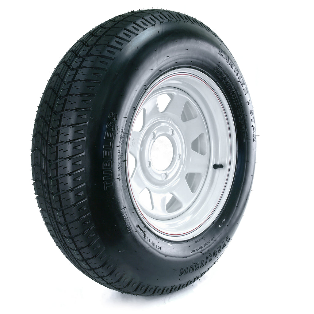 Trailer Tire W/rim St205/75d14