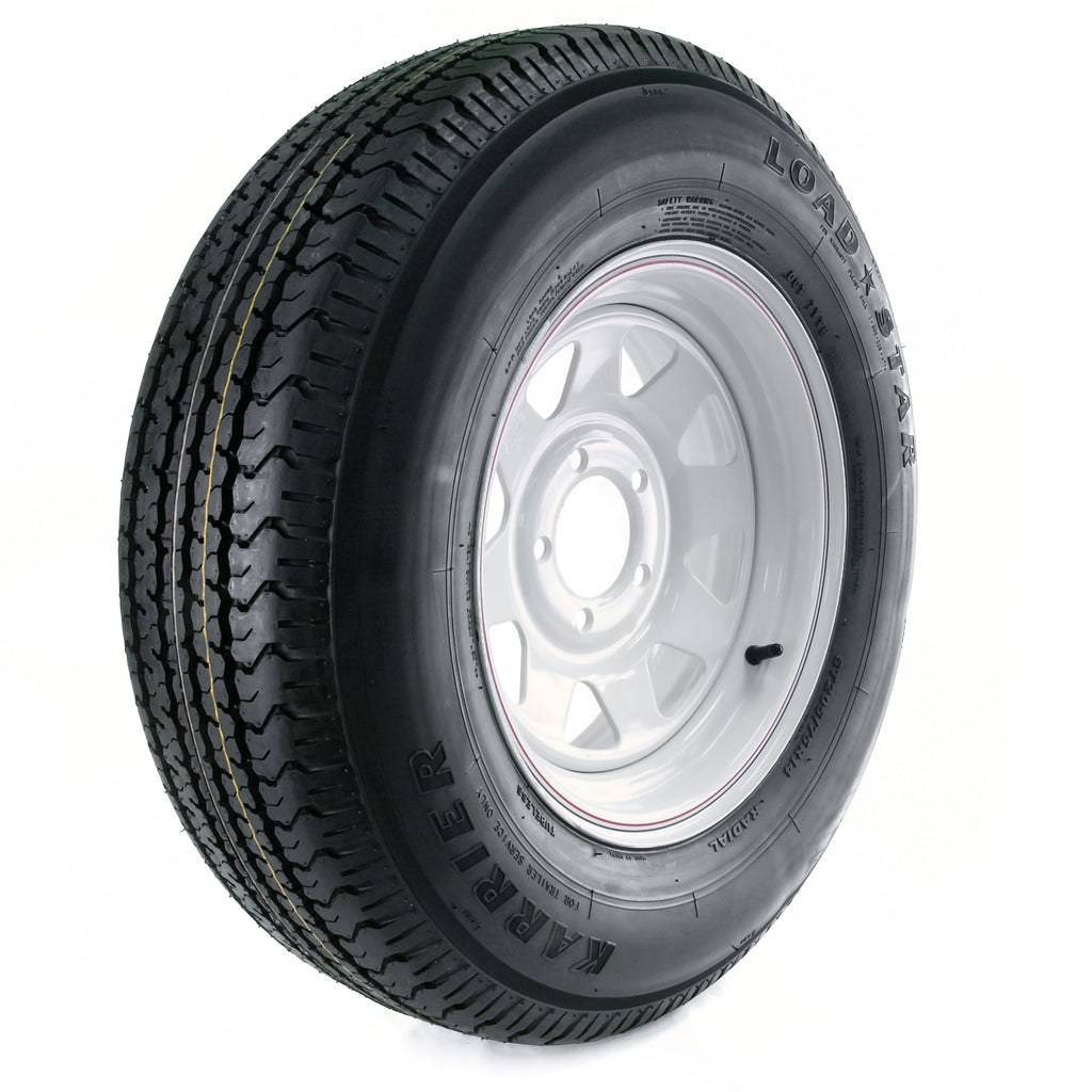 Trailer Tire W/rim St205/75r14