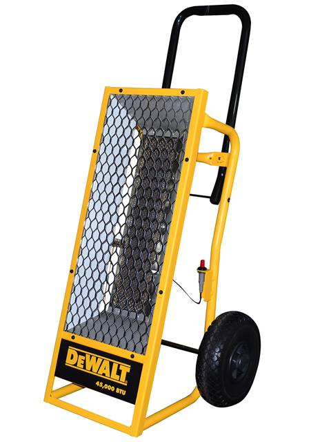 Mr. Heater 45k Dewalt Forced Air Low Pressure Heater
