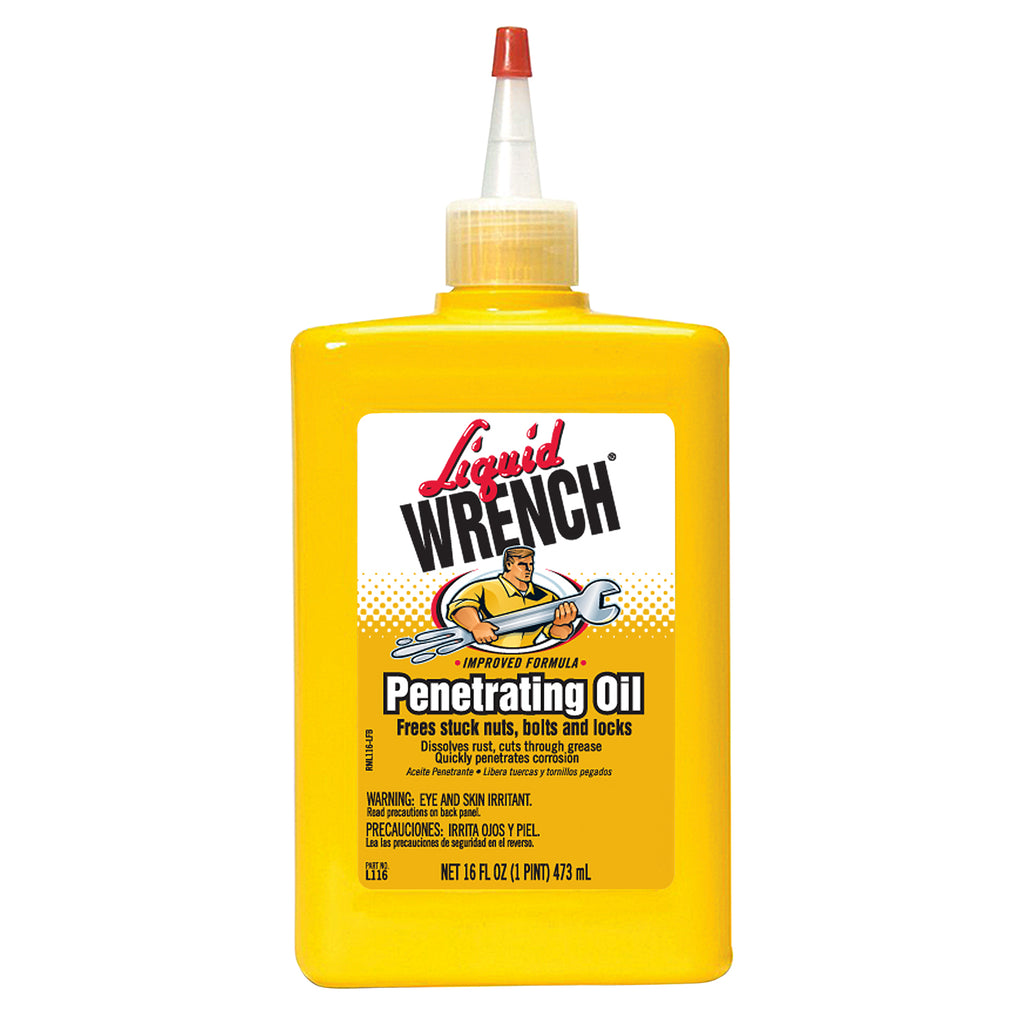 Liquid Wrench Oil 16oz      12