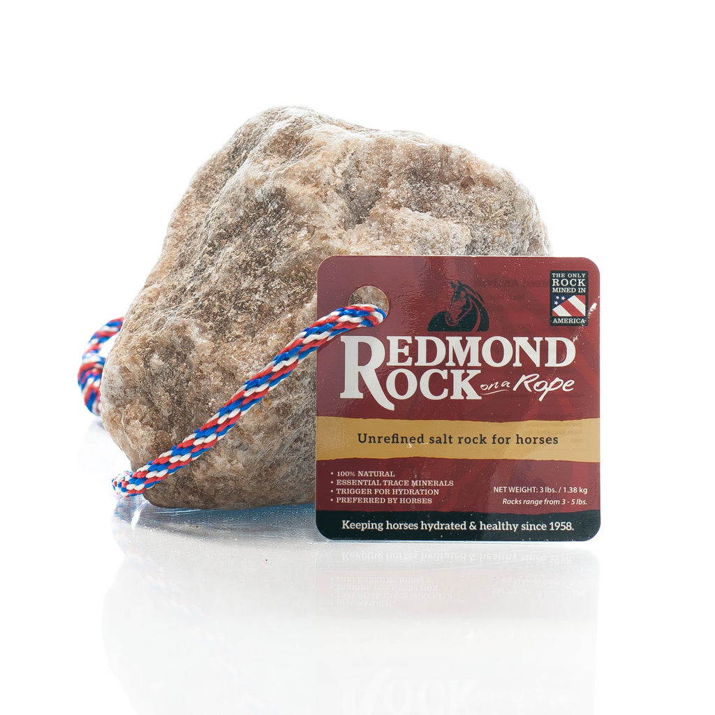 Redmond Rock Natural Salt On A Rope 3lb-6lb