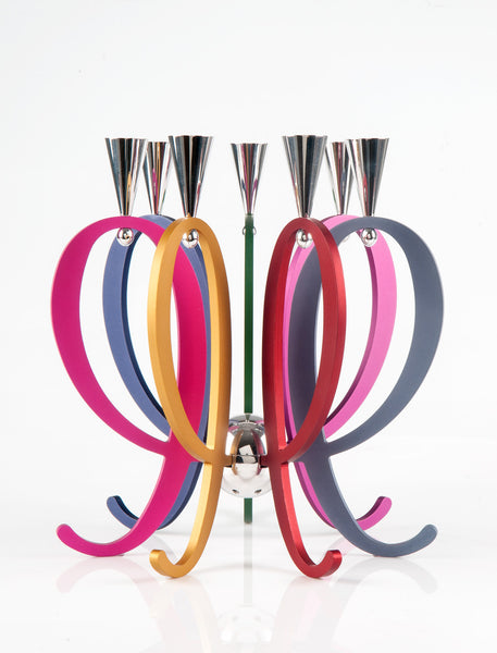 THE FAMILY CANDELABRA - EXPANDABLE - Agayof Judaica