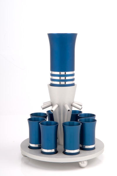 SET OF 8 CUPS - FOUNTAIN010 - Agayof Judaica