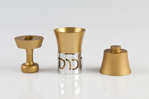 Travel Havdallah Set 022 Gold - Agayof Judaica