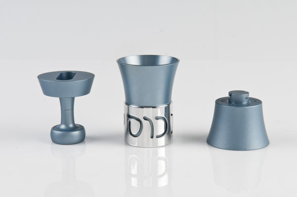 Travel Havdallah Set 024 Teal - Agayof Judaica