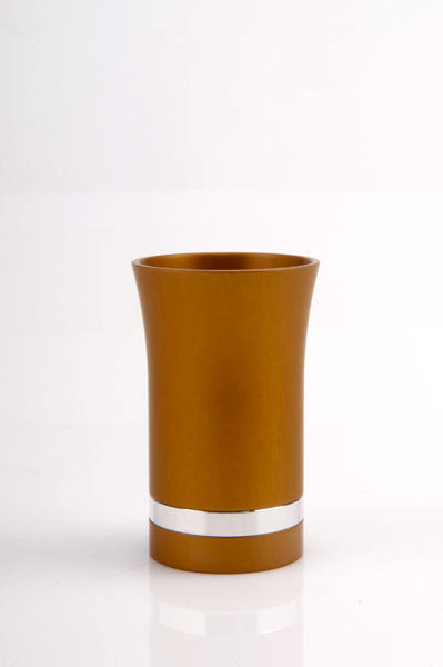 SMALL KIDDUSH CUP - SMALL-CUP002 - Agayof Judaica