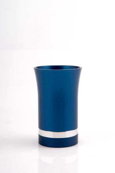 SMALL KIDDUSH CUP - SMALL-CUP009 - Agayof Judaica
