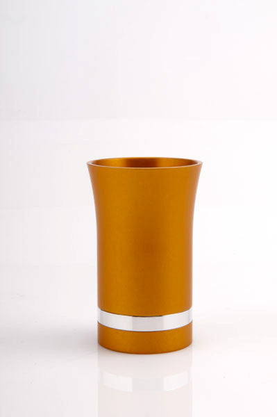 SMALL KIDDUSH CUP - SMALL-CUP012 - Agayof Judaica