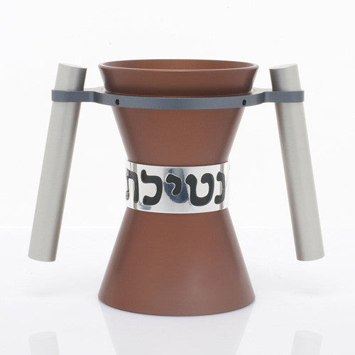 WASHING CUPS SMALL - CUP-016 - Agayof Judaica