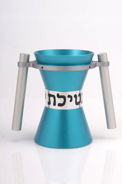 WASHING CUP LARGE - WASHING_CUP007 - Agayof Judaica