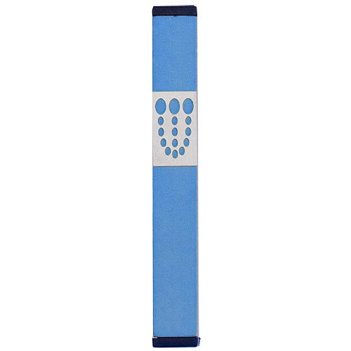 DOTS SHIN MEZUZAH - MEDIUM - MZ-160 - Agayof Judaica