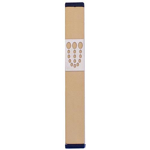 DOTS SHIN MEZUZAH - MEDIUM - MZ-156 - Agayof Judaica