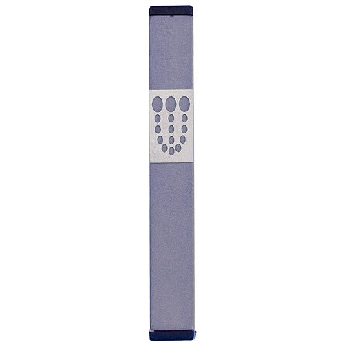 DOTS SHIN MEZUZAH - MEDIUM - MZ-158 - Agayof Judaica