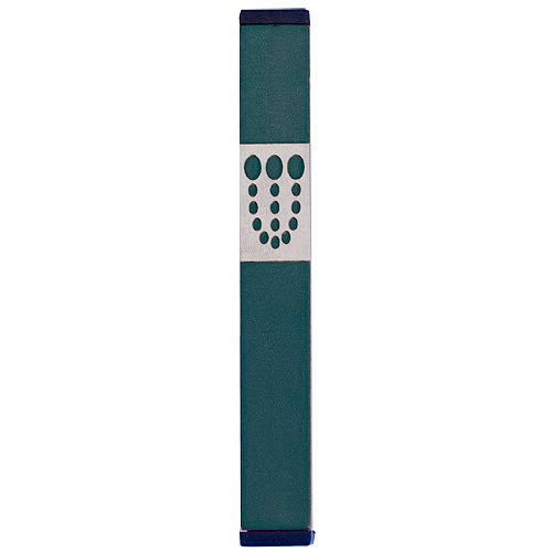 DOTS SHIN MEZUZAH - MEDIUM - Agayof Judaica